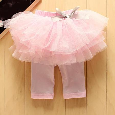 Adorable Sweet Baby Girls Pantskirt