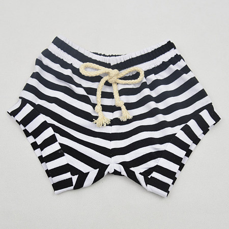 Bib Stripe Shorts