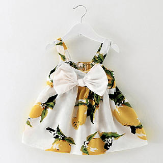Floral Tank Top Princess Dress