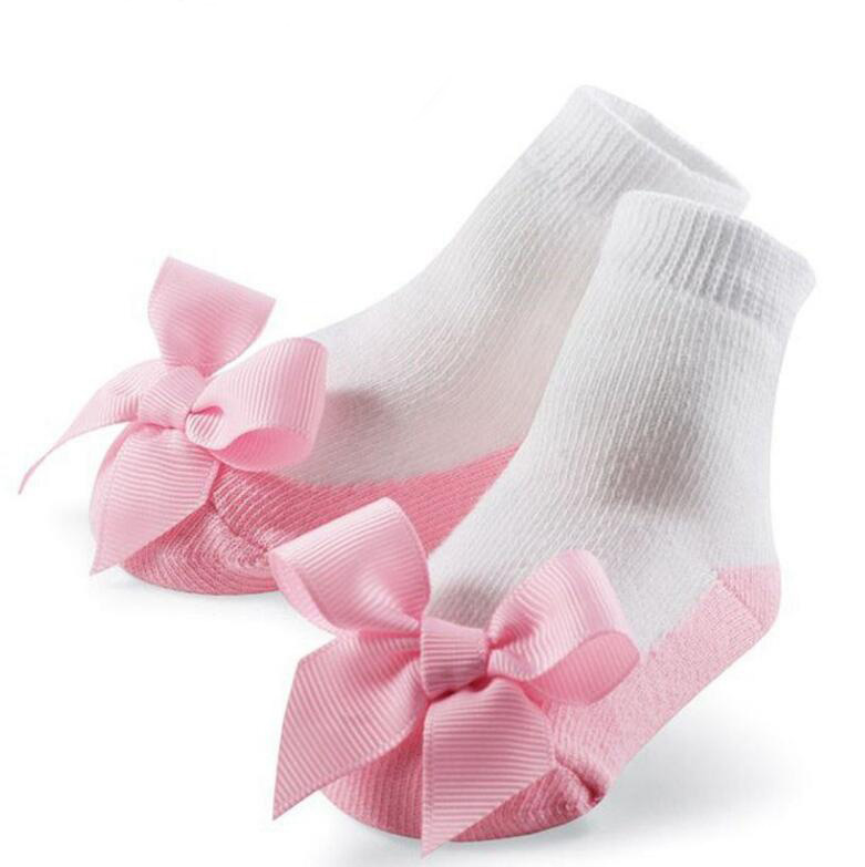 Cute Princess Lace Bowknot Socks