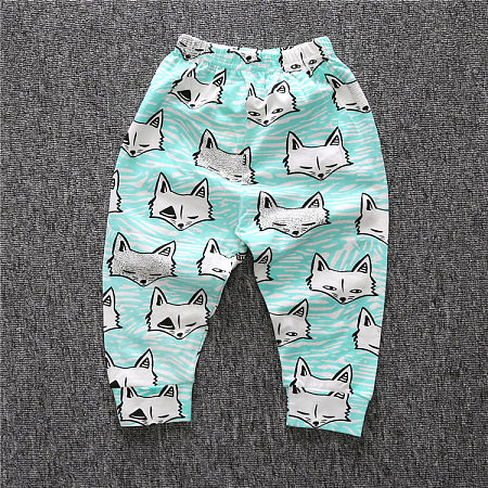 Cute Animal Printed Pants