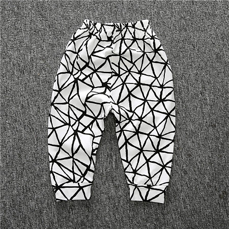 Cute Geometric Pattern Pants
