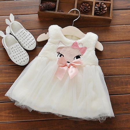 Cute Princess Plush Dress