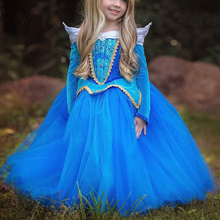 Sleeping Beauty Princess Performing Dress