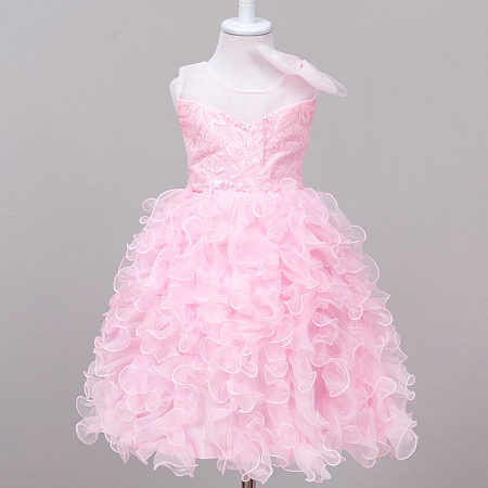 Bowknot Toddler Girls Princess Formal Dress