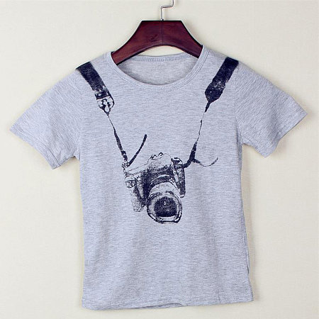 Boy Camera Printing T-Shirts