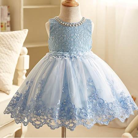 12339f00cb Exquisite Beads Decorated Tulle Princess Dress - popreal.com