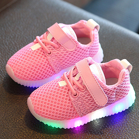 LED Breathable Sports Shoes