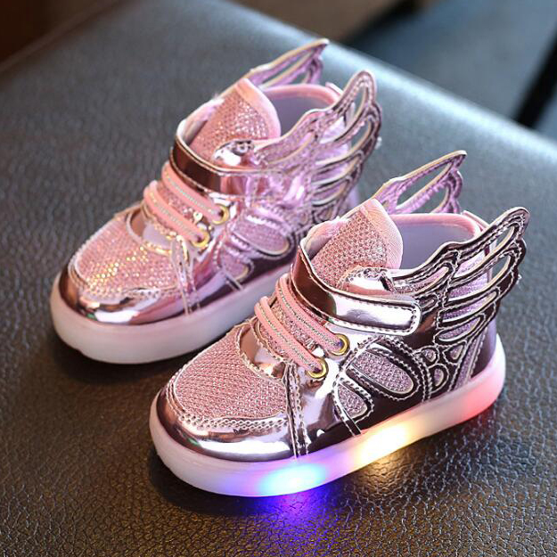 Fashion Wings LED High Top Shoes