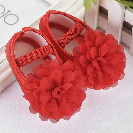 Adorable Flower Soft Sole Prewalker