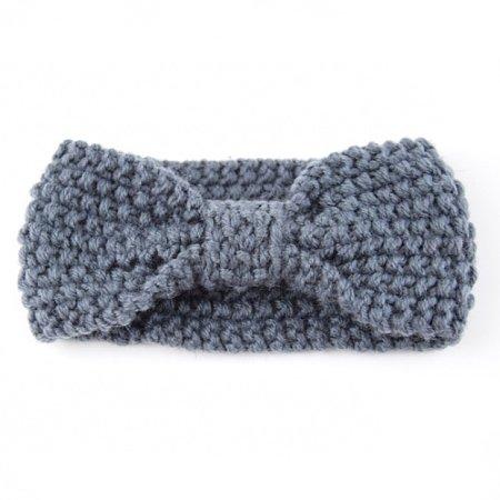 Knitting Bowknot Headband