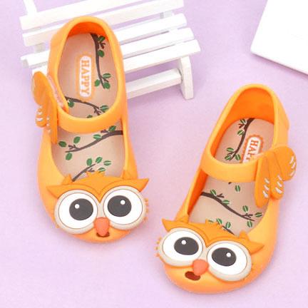 Cartoon Owl Pattern Velcro Shoes