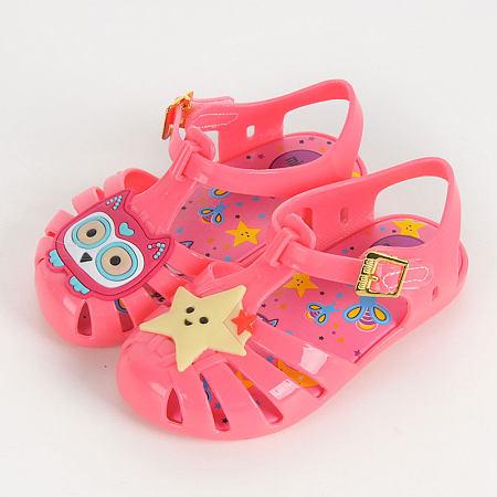 Cartoon Animals Star Pattern Velcro Shoes