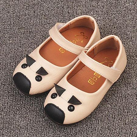 Cartoon Pattern Velcro Shoes, beige, AL18032038