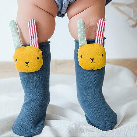 Cartoon Animals Decorated Socks