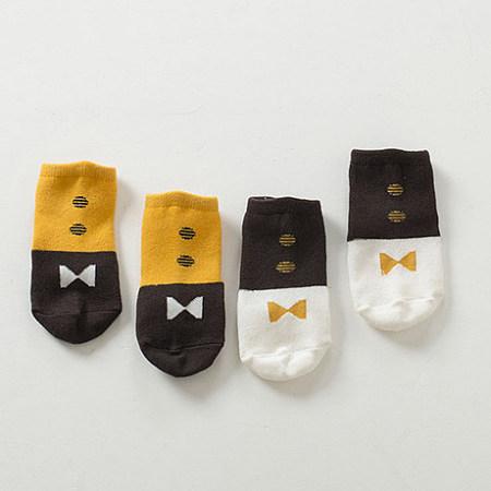 Color Block Geometric Pattern Socks