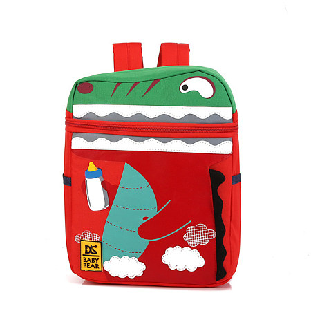 Cartoon Dinosaur Pattern Backpack
