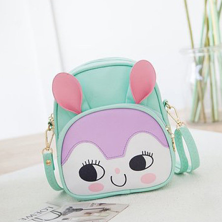 Cartoon Face Pattern Backpack
