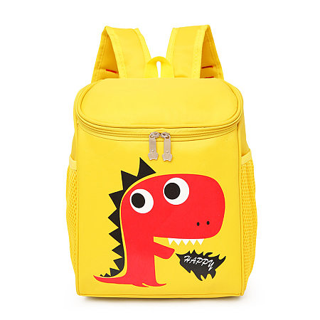 Cartoon Animals Pattern Zipper Backpack