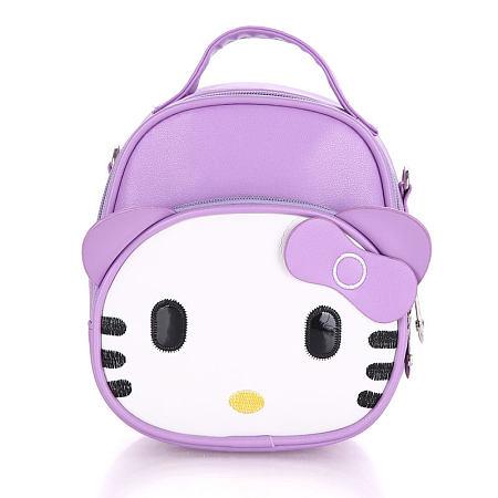 Bowkot Decorated Cartoon Cat Backpack