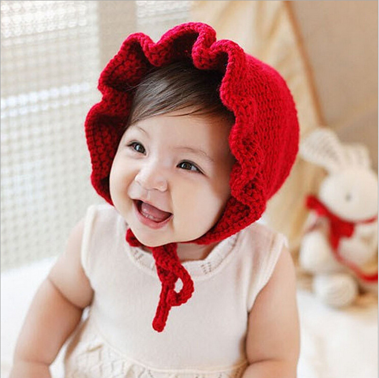 Knitted Solid Color Cap