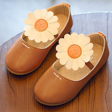 Sun Flower Decorated Shoes