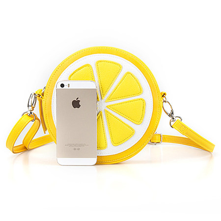 Lemon Style Adjustable Crossbody Bag