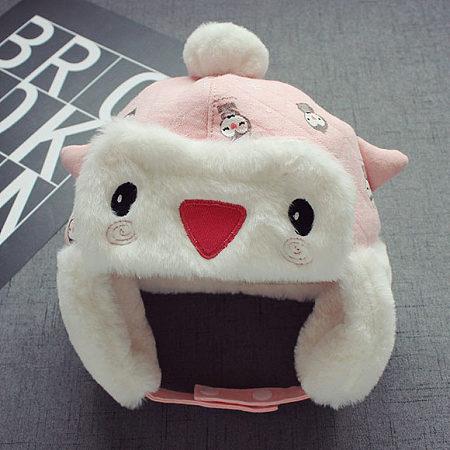 Cartoon Animals Style Thickened Hat