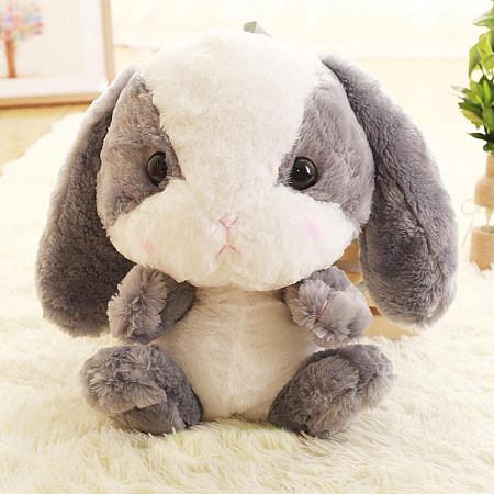 Plush Long-Eared Bunny Backpack