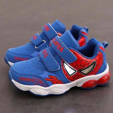 Fashion Letters Pattern Velcro Sports Shoes