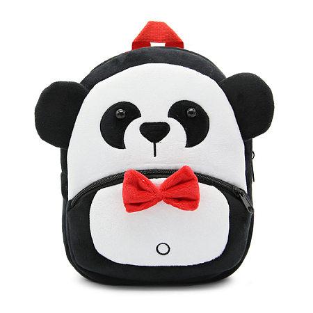 Plush Cartoon Panda Shaped Backpack