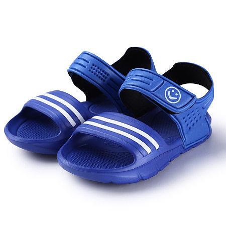 Stripes Velcro Girls Boys Sandals