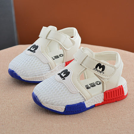 Breathable Net Surface Girls Boys Shoes