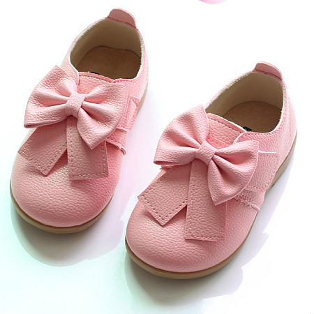 Adorable Big Bowknot Girls Shoes