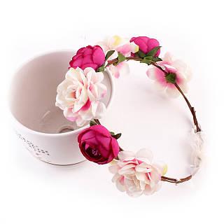 Girls Sweet Flower Hairband