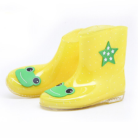 Boys Girls Cartoon Style Water Proof Boots