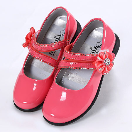 Flower Decorated Princess Shoes