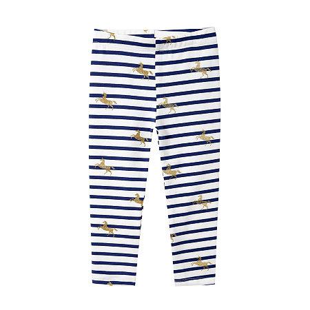 Stripes Unicorn Prints Pants
