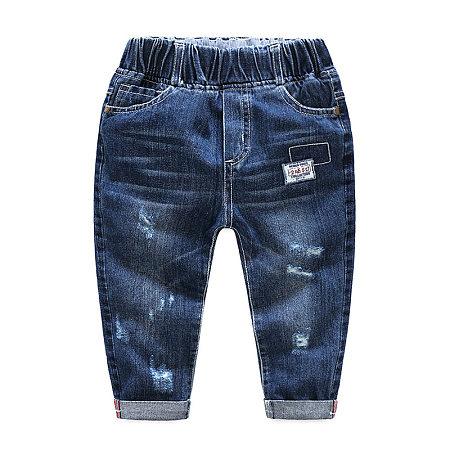High Waist Elastic Jeans