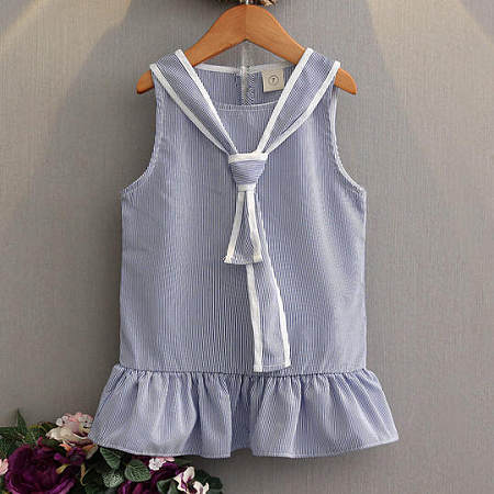 Stripe Girls Summer Dress