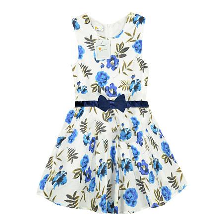 Bowknot Girls Summer Dress