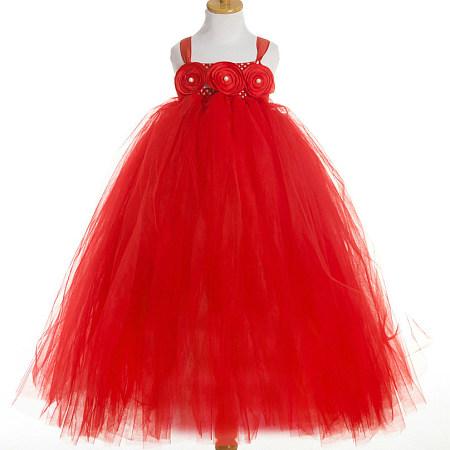 Christmas Open Shoulder Princess Dress