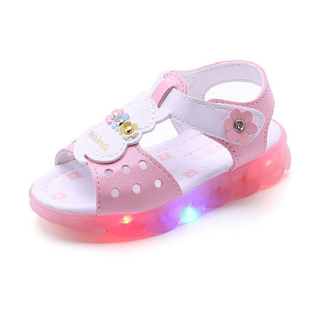 LED  Flower Decorated Shoes