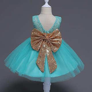 Shining Big Bowknot Princess Dress