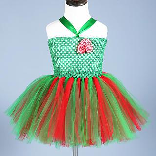 7722572e57 Christmas Halter Tutu Dress