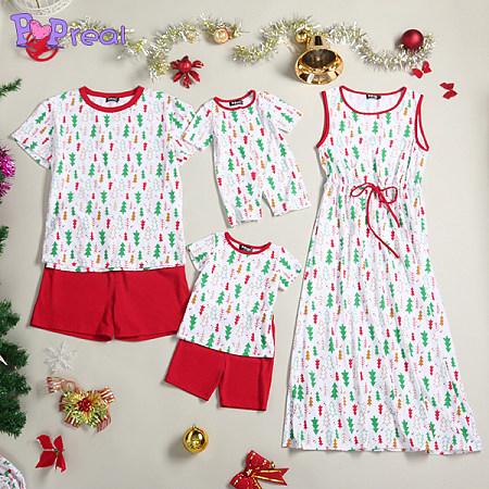 Christmas Tree Print Family Set