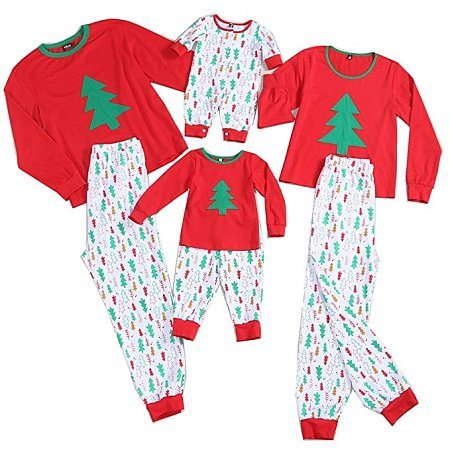 Christmas Tree Prints Family Pajamas, 3771608