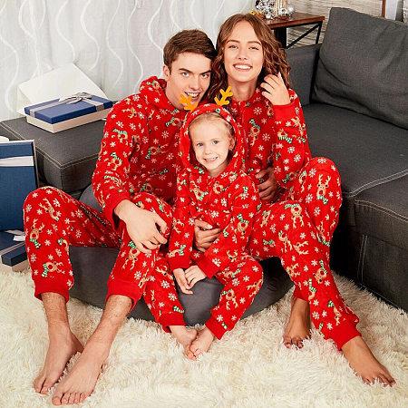 Christmas Reindeer Prints Family Piece Pajamas, 5744782