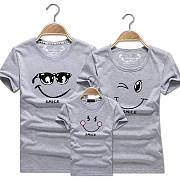Smiling Face Family Summer T Shirt Only 11 96 Popreal Com