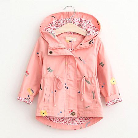 Drawstring Asymmetrical Zipper Hooded Jackets